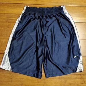 Nike Boy's Navy Blue Athletic Shorts